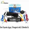 Für Toyota Aygo/Peugeot 108/Citroen C1 2014 ~ Präsentieren/HD CCD Nachtsicht Auto Rückansicht kamera/Auto Reverse Parkplatz Kamera