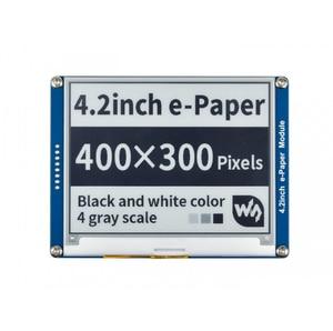 Image 1 - Waveshare 4.2 전자 종이, 400x300,4.2 인치 전자 잉크 디스플레이 모듈, 디스플레이 색상: 검정, 흰색. 백라이트 없음, 광각, SPI interace,