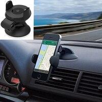 360 graus de rotação ajustável suporte do telefone largura ajustável universal suporte do telefone móvel preto suporte do carro|Suporte universal p/ carro|Automóveis e motos -