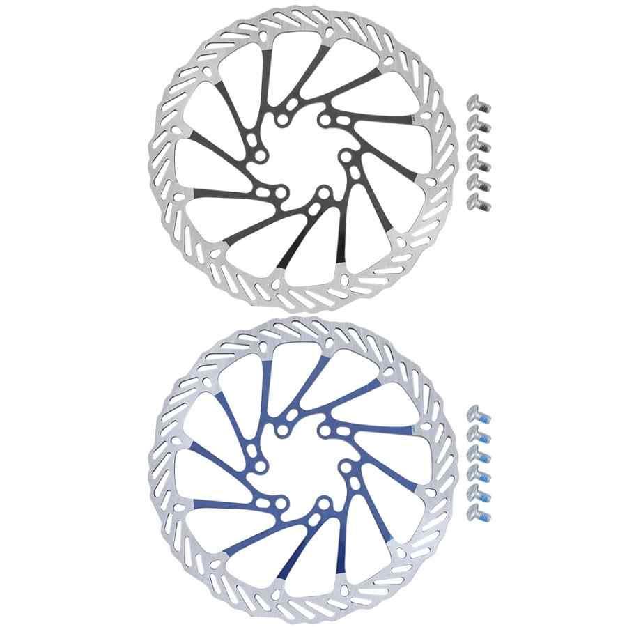 Frein de vélo vtt VTT disque de frein de vélo Rotor flottant 160mm avec 6 boulon accessoire vélo partie vélo frein à disque