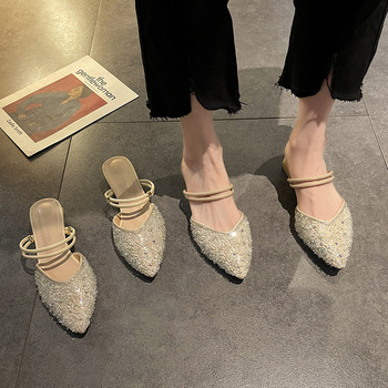 Buty niskie kopytowe obcasy gumowe rzymskie tkaniny PU podstawowe niskie buty tkaniny PU rzymskie kopytowe obcasy gumowe tanie i dobre opinie SLWFGT Niska (1 cm-3 cm) Wsuwane CN (pochodzenie) Na wiosnę jesień Na zewnątrz Wysokie buty RUBBER kapcie Dobrze pasuje do rozmiaru wybierz swój normalny rozmiar