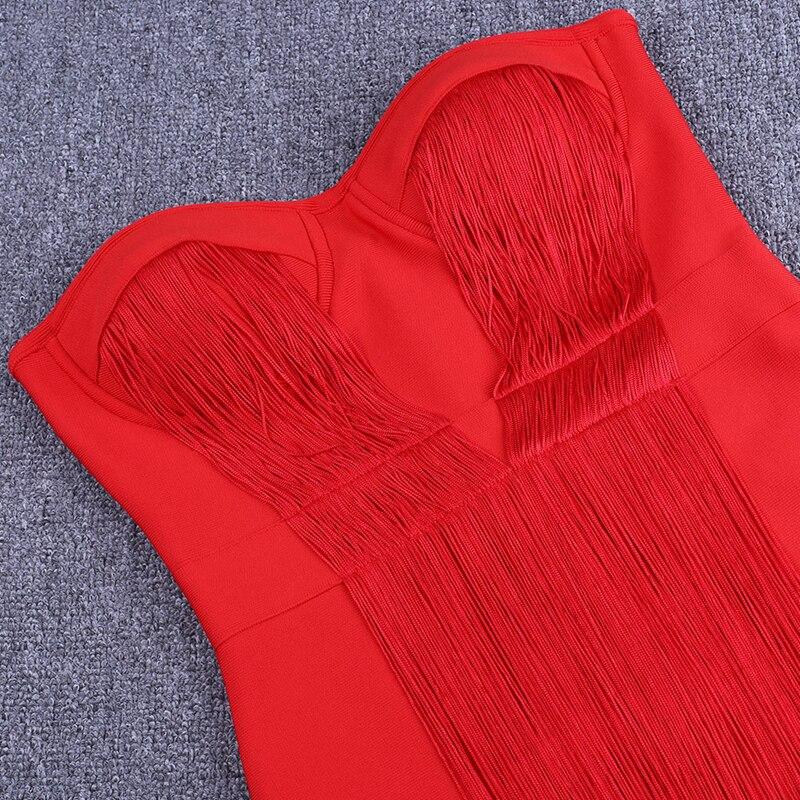 Summer Dress Strapless Last 14
