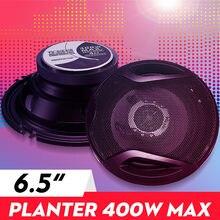 400w 6.5 Polegada carro alto-falante de áudio 2-way coaxial universos estéreo magnético externo de alta-fidelidade áudio do carro música subwoofer par