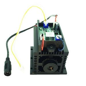 Image 2 - High Power 15 w Laser Diode Module Lazer Hoofd diy cutter graveur cnc machine voor metaal hout 450nm 15000mw 15 w TTL