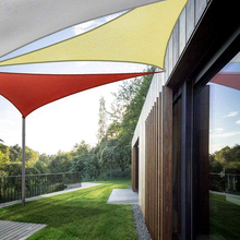 SHELTER Triangle Canopy Sun-Shade Awning Patio-Tent Garden Practical Durable Waterproof