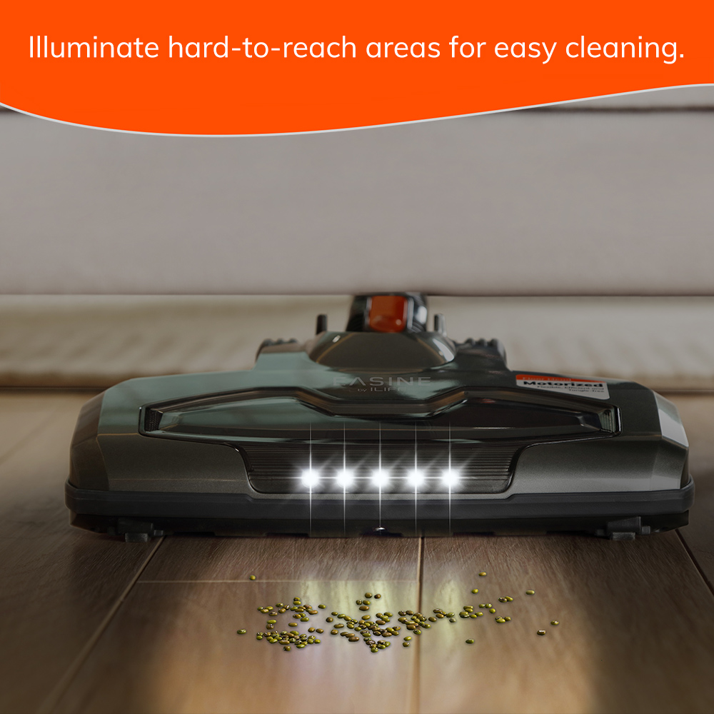 EASINE by ILIFE H70 Handheld Vacuum Cleaner, 21000Pa Strong Suction Power, 40Minutes runtimes, removable battery, 1.2L Dust box 5