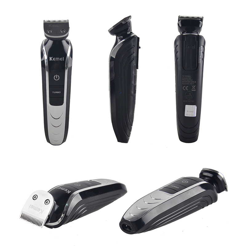 <font><b>KEMEI</b></font> 5 in 1 Electric Hair Clipper With Limit Combs Trimmer Titanium Blade Hairclipper Cutting Machine Shearer KM-<font><b>1832</b></font> image