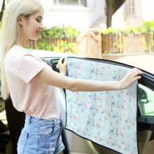 Car Window Curtain Universal Windshield Sunshade Side window sunshade curtain Summer Adjustable Protector Solar Coche