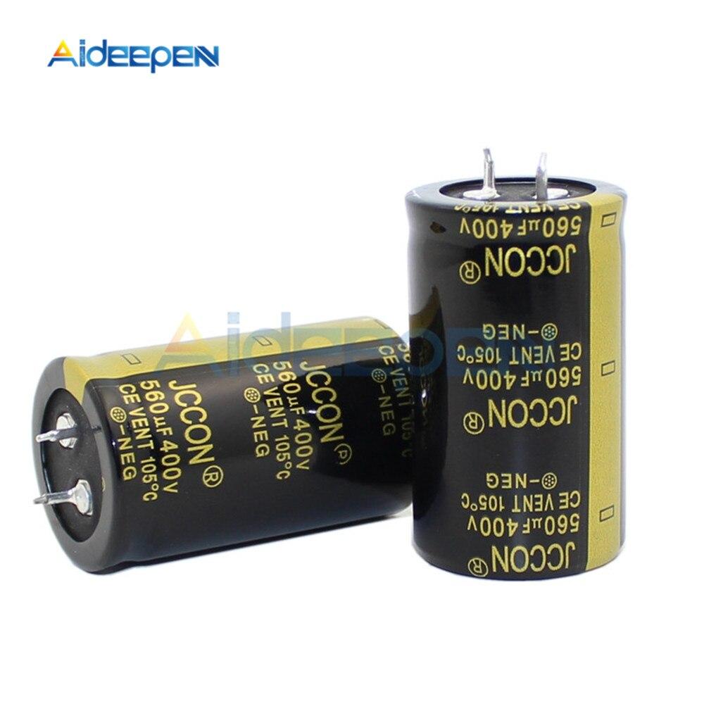 400V 560UF 30*50MM Aluminum Electrolytic Capacitor 560μF 400V 30x50mm