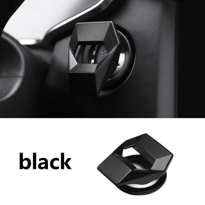 سيارة التصميم ملصق اكسسوارات حلقة السيارات المحرك بدء زر التوقف حافظة لهاتف أودي A6 B8 A6L Q5 8R A4 C7 B9 A7 BT 2018