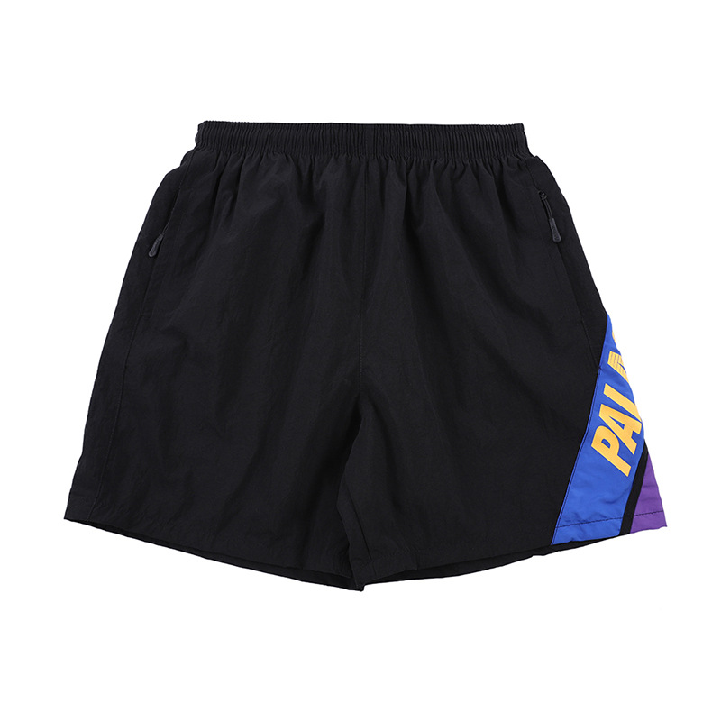 Palace Live2019 Spring And Summer New Style Popular Brand European And American Streets Simple Elastic Waist MEN'S Sports Shorts