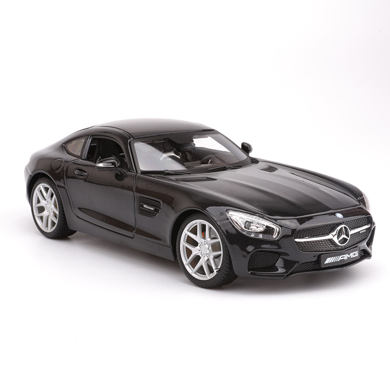 Maisto 1: 18 Model Alloy Car Model Benz Amg Gt Sports Car Model Collection Gift Decoration
