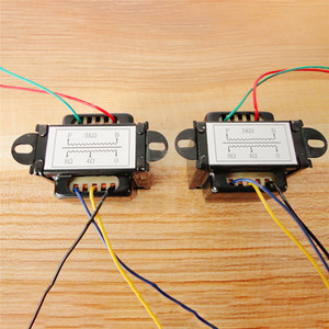 Image 3 - 5K 5W Single Ended Output Transformer for 6P1 6P14 6P6 0 4 8 Ohm DIY Vacuum Tube Amplifier