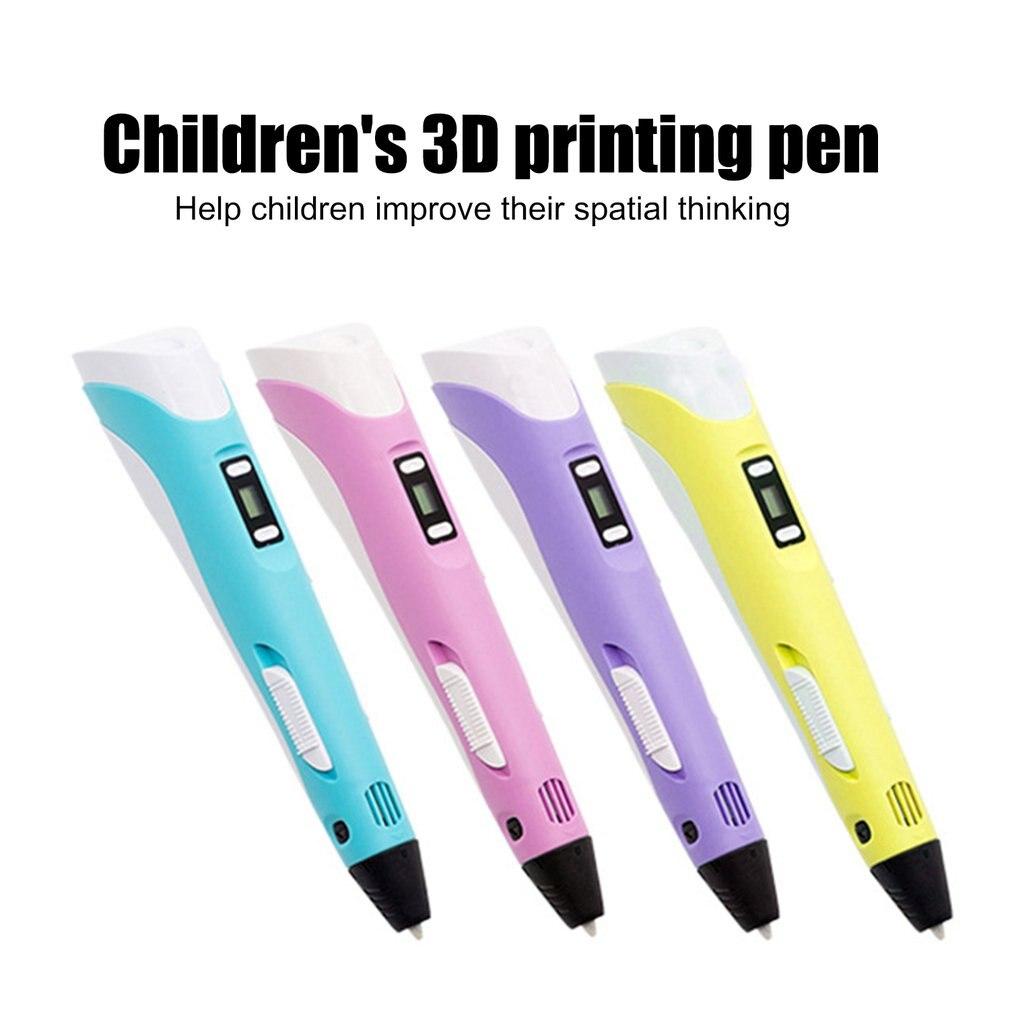 Oled 3D Printing Pen 3D Drawing Printing Doodler Pen For Kid 3D Doodling Printer Pencil Pen With Ole