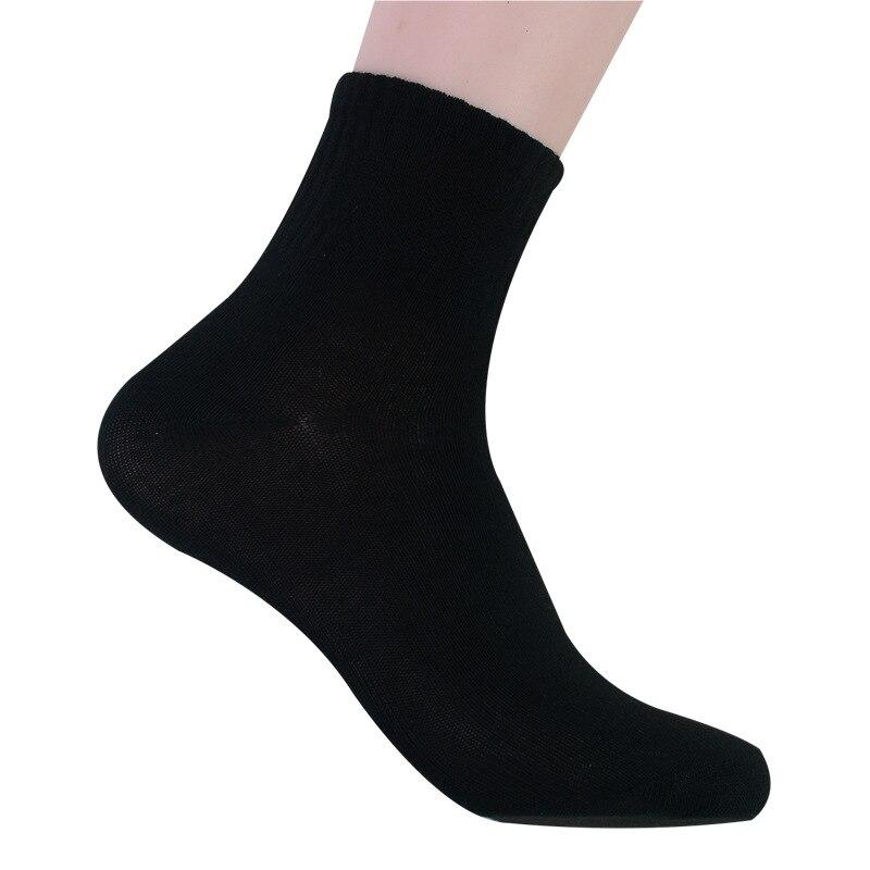 2020 Men's Cotton Socks New Styles 10 Pairs / Lot Black Sport Men Socks Breathable Spring Autumn For Male Wholesale