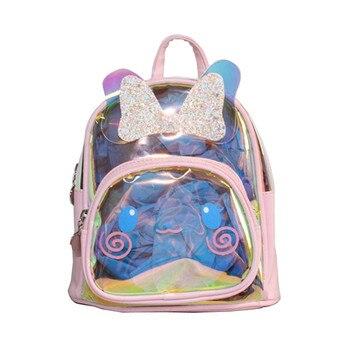 Children Kids Rabbit Ears Backpack School Bag Lovely Rucksack Kindergarten Girls