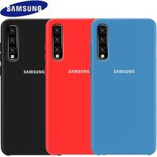 SAMSUNG A5 2017 Case Original Official Soft Silicone Cover Samsung Galaxy A3 A5 A7 2017 A6 A8 plus A7 A9 2018 Shockproof Case цена