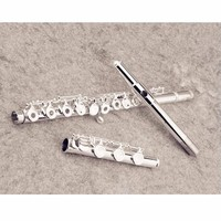 Hot YFL 471 Flute Professional Cupronickel Opening C Key 17 Hole Flute Silver Plated Musical Instruments With Case