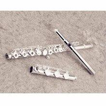 Hot YFL-471 Flute Professional Cupronickel Opening C Key 17