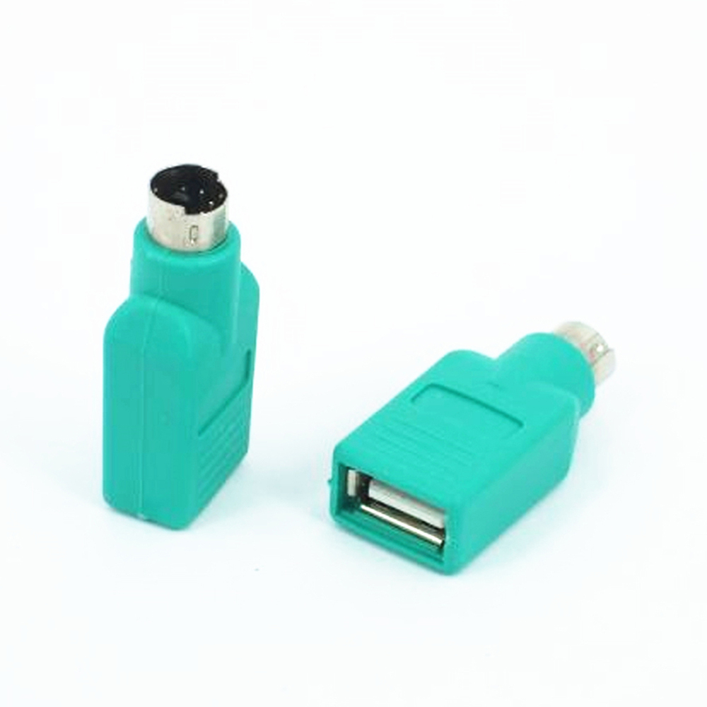 High Quality 1PCS USB Female To PS2 PS/2 Male Adapter Converter Universal Keyboard Mouse Mice Accessories