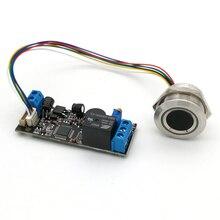 K202 + R503 DC12V Tiêu Thụ Điện Năng Thấp Vân Tay Điều Khiển Bảng + R503 Vân Tay Module