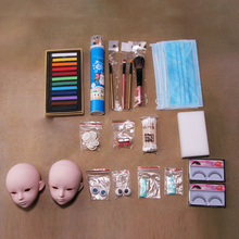 New Hot Junior DIY Doll Makeup Tools Kit for BJD Doll (11 15 Tools No Gloss Oil Makeup Remover and Glue) cheap surwish Other 2895488 Unisex Fashion Derivative Product Dressing Maintenance 18 x 12cm none