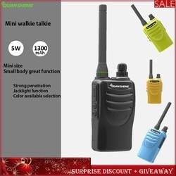 Mini Walkie Talkie Two-Way-Radio Transceiver Radio Communicador Quansheng TG--K58minis Portable Restaurant Kids Children Camping