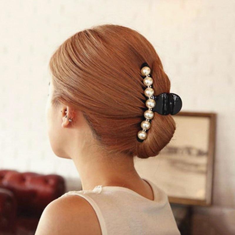 Lot de 100 Épingle Hairpin Clip Coiffure Pince À Cheveux Barrette Alliage Noir