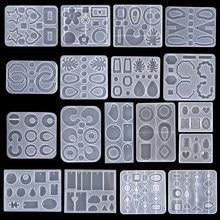 Zawieszka formy silikonowe okrągłe serce kropla żywicy silikonowej formy na naszyjnik DIY i brelok przezroczysta żywica epoksydowa biżuteria z żywicy Making