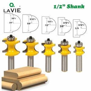 LAVIE 5 PCS 12mm 1/2 Shank Bul