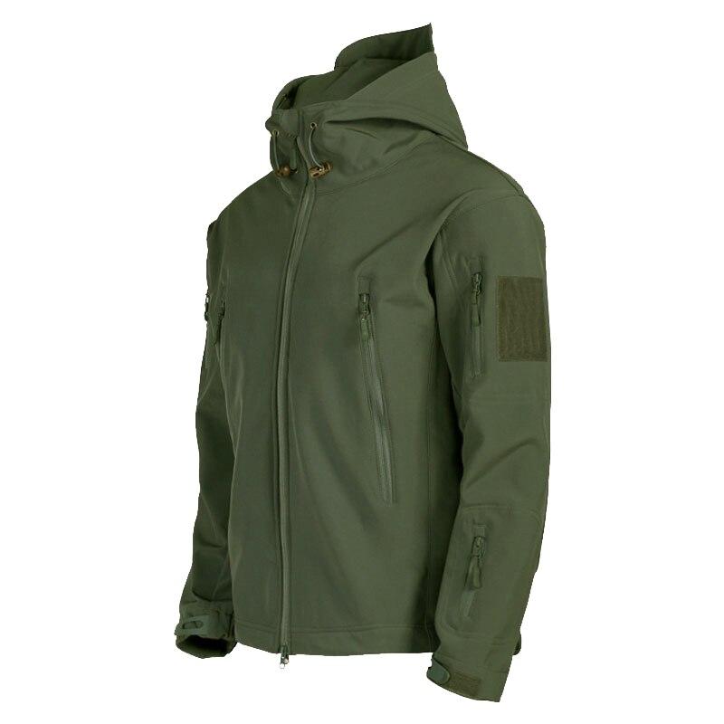Hiver hommes vestes trois en un temps automne manteau extérieur vestes coupe-vent Softshell Camp randonnée tactique polaire vêtements