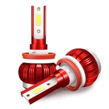 Car Headlight LED H11 bulbs H7 H1 9005 hb3 9006 hb4 H4 6000K Auto Bulbs 35W 12V 8000LM Styling led automotivo