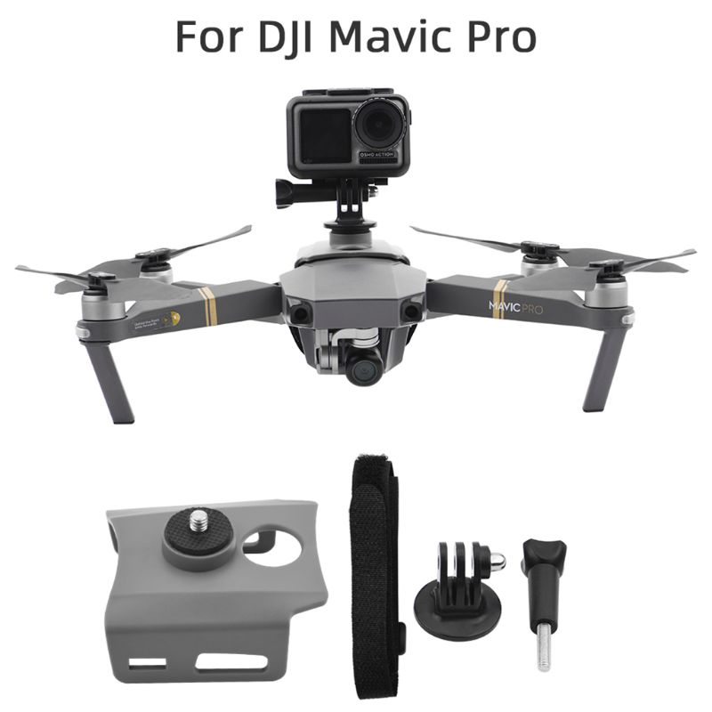 1Set Camera Fill Light Holder Mount Mounting Bracket Expansion Kit With Screw Base For DJI MAVIC 2/MAVIC Pro Drone Accessories