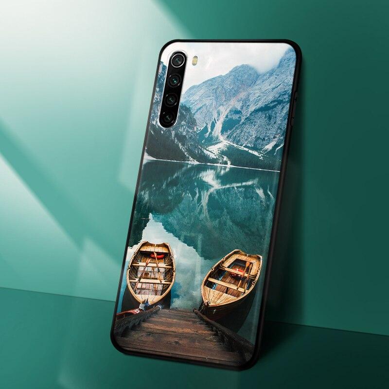 Animal Lion Bear Redmi Note 8 PRO Case Phone Back Cover FOR Xiaomi Redmi Note 8T 8 T 8A Bumper Black Silicone Matte TPU Redmi 8