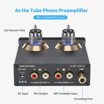 Turntable Phonograph Preamplifier  Box X2 For DIY 5