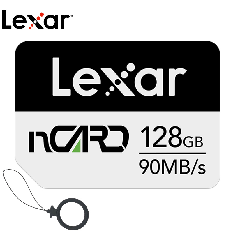 Карта памяти Lexar NM, 64 ГБ, 128 ГБ, высокоскоростная 256 ГБ для Huawei Mate 20 30 P30 PRO Nova5 P40 4G, мобильный телефон, Nano