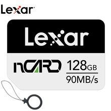 Lexar нм слот для карт памяти 64G карта памяти 128G высокоскоростной 256G для Huawei Mate 20 30 P30 PRO Nova5 P40 4G 5G мобильный телефон Nano