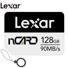 Lexar nm cartão de memória 64g cartão de memória 128g de alta velocidade 256g para huawei companheiro 20 30 p30 pro nova5 p40 4g 5g telefone móvel nano