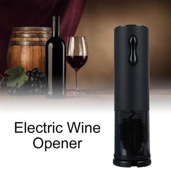 USB Rechargeable Electric Wine Opener and Corkscrew Wine Bottle Opener with Foil Cutter