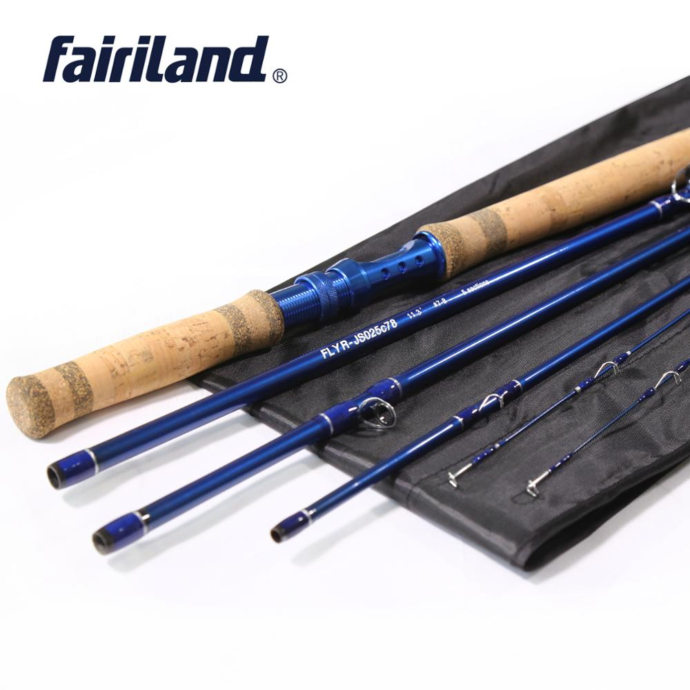 2020 Improved 5 Section Fly Fishing Rod With Extra Top End Tip Free shipping 1