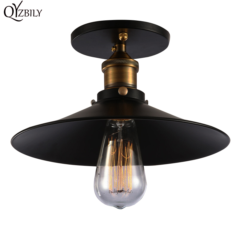 Lampu Siling Luminaria Ceiling Lamp Light Vintage Industrial Bedroom Home Lighting Fixture Lamparas De Techo Loft Abajur