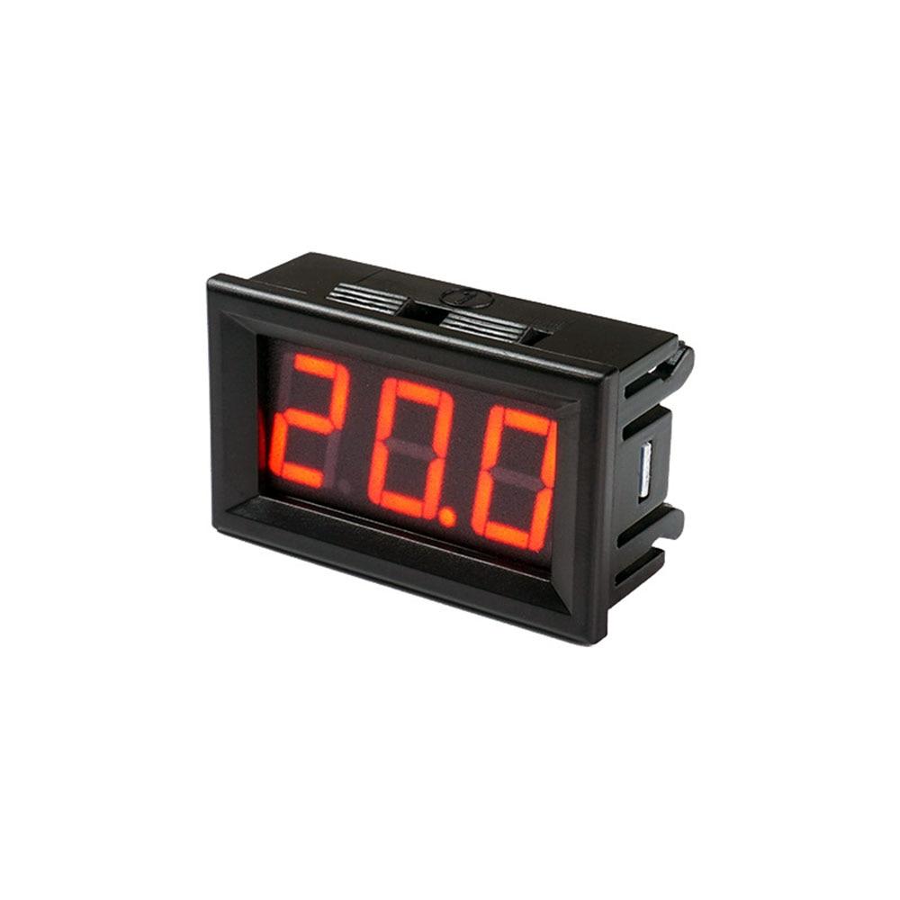 Taidacent Intelligent Voltmeter DC Digital DC Voltage Meter With Modbus-RTU TTL RS485 Interface DC Voltage Panel Meter