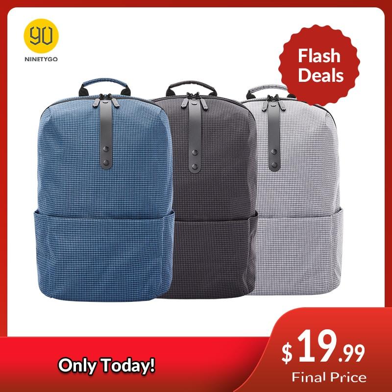 Casual Backpack Mochilas Open-Pocket Travel Laptop Ninetygo 90fun Schoolbag College Girls