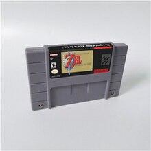 ตำนานของ Zeld A Link to the past Parallel Worlds เทพธิดา Wisdomed BS REMIX เกม RPG CARD US รุ่นประหยัดแบตเตอรี่