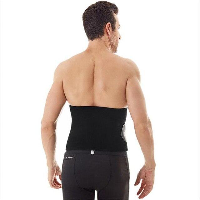 Unisex Waist Support Belt Strong Lower Back Brace Support Corset Belt Waist Trainer Sweat Slim Belt Sports Body Shaper Corset 2