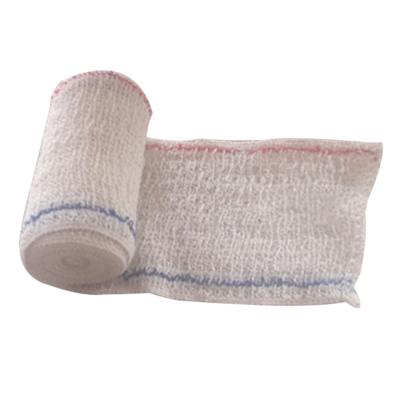 5CM X 4.5M Elastic Spandex Bandage  Wrinkle Cotton Bandage First Aid Kit Accessories 5 Kinds Size Outdoor Survial Tool