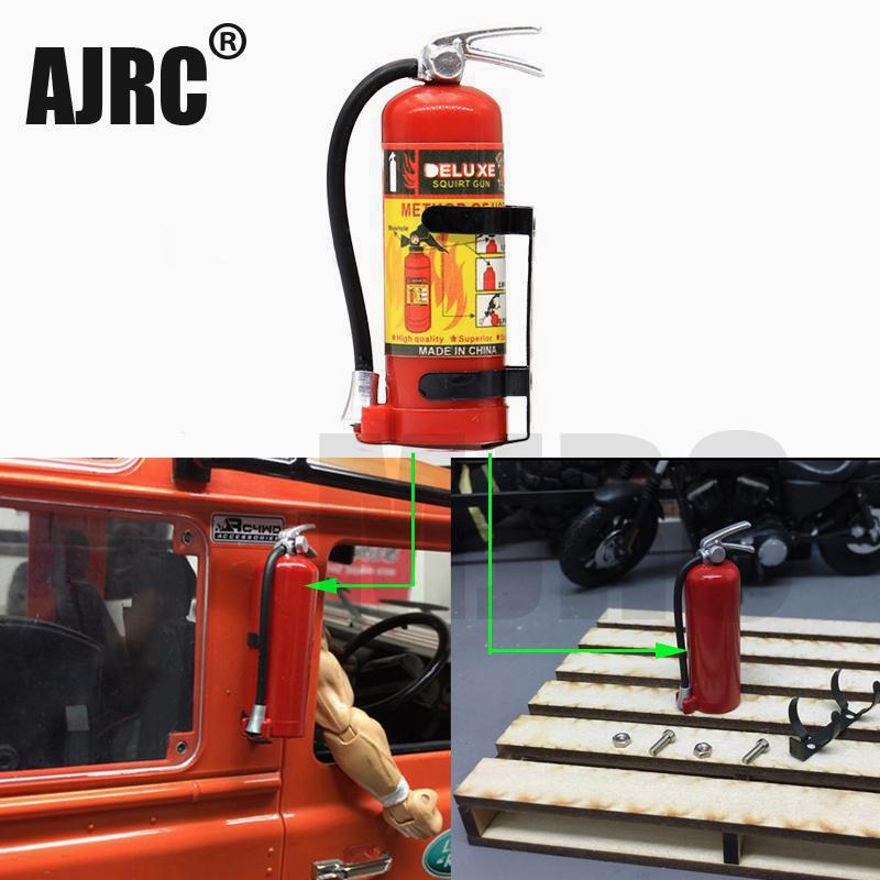 1/10 Scale Simulation Fire Extinguisher RC Rock Crawler Accessory For Traxxas TRX4 Axial SCX10 TAMIYA CC01 TRX-6 D90 D110 AXIAL