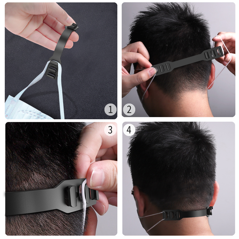 Hot DealsBelt Mask-Holder Snaps-Hanger Ear-Extender Pe-Buckle Earloop-Mask Release-Earpain