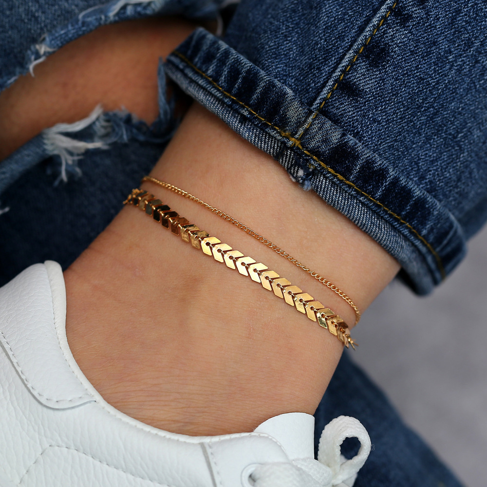 Anklets for Women Foot Accessorie Summer Beach Barefoot Sandals Bracelet ankle on the leg Female Ankle gifts for women