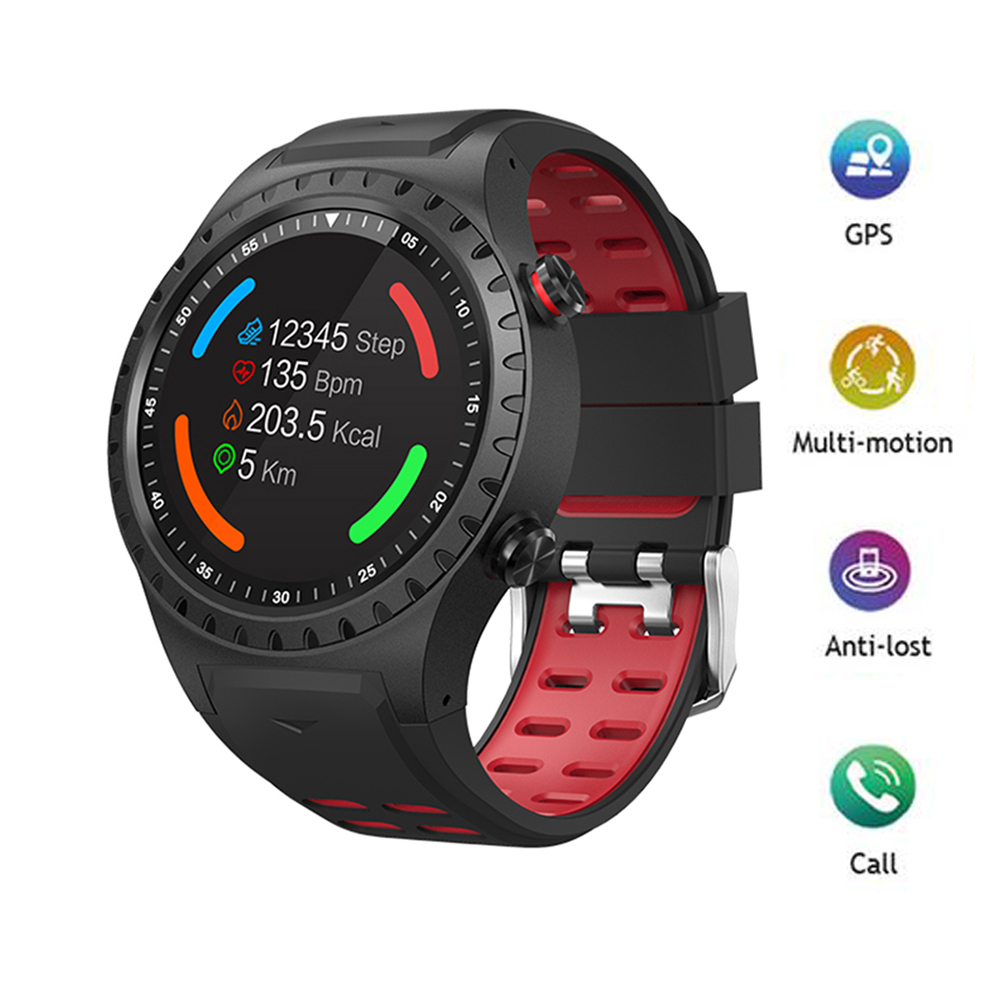 GPS Sports Watch Bluetooth Answer Call Multi-Sports Mode Compass Altitude Outdoor Smart